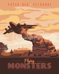 Dover AFB C-17 Globemaster dover-afb-c-17-military-aviation-poster-art-print-gift