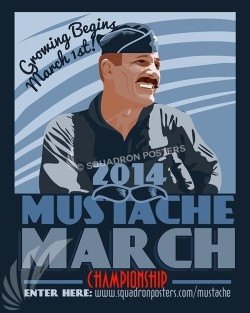 2014 Mustache March Championship 2014-mustache-march-sp00467-vintage-military-aviation-travel-poster-art-print-gift