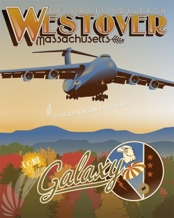 337th C-5 SP00543 military poster art print gift