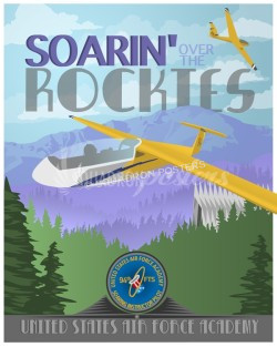 air-force-academy-glider-training-tg-10-poster-art