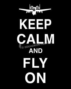 A-10 Keep-Calm-Fly-On-Black