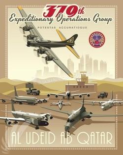 Al Udeid B-17 379 EOG SP00523-vintage-military-aviation-travel-poster-art-print-gift