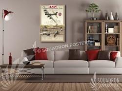 Al Udeid B-17 379 EOG 20x30 SP00523-vintage-military-aviation-canvas-travel-retro