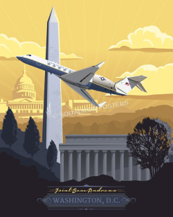 andrews-c-37a-military aviation poster-art-print