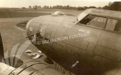 B-17 aircraft named Blondie II