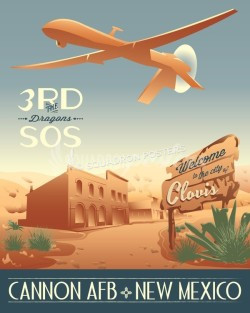 cannon-afb-3rd-sos-mq-1-military-aviation-poster-art-print