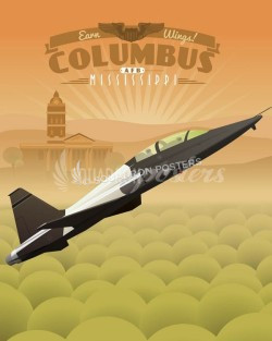 columbus-afb-t-38-talon-military-aviation-poster-art-print-gift