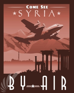 Come_See_Syria_C-130H_SP01067-featured-aircraft-lithograph-vintage-airplane-poster-art