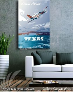 Corpus_Christi_T-44_GENERIC_Max_Shircov_SP01532-squadron-posters-vintage-canvas-wrap-aviation-prints