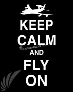 E-3 Keep-Calm-Fly-On-Black