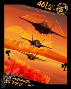 Edwards AFB F-35 FLTS SP00727 feature-vintage-print