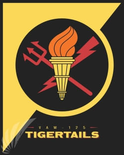 Emblem VAW-125 Tigertails V2 SP00666 feature-vintage-print