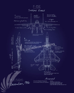 F-15E_Blueprint_SP00865-featured-aircraft-lithograph-vintage-airplane-poster-art