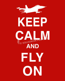 F-16 Keep-Calm-Fly-On-Red