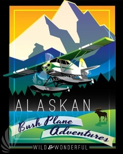 alaska-bush-pilots-aviation-art-series-print-#002