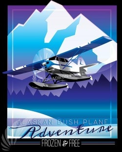 alaska-bush-pilots-aviation-art-series-print-#003