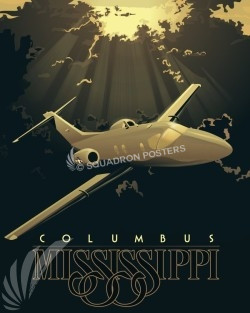 columbus-afb-t-1-Jayhawk-v2-military-aviation-poster-art