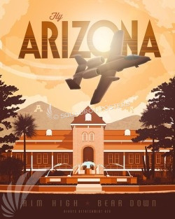 afrotc-detachment-020-university-of-arizona-college-military-aviation-poster-art-print