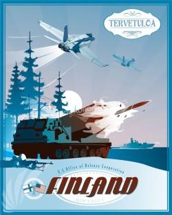 Finland F-18 USODC SP00652 feature-vintage-print