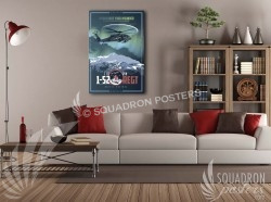 Fort Wainwright C co 1-52 UH-60L 20x30 SP00510-vintage-military-aviation-canvas-travel-retro