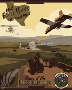 Fort Hood 9th Air Support Operations Squadron Ft_Hood_A-10_9th_ASS_SP00991-featured-aircraft-lithograph-vintage-airplane-poster-art