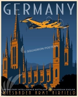 Germany RC-12 1st MIB SP00513-vintage-military-aviation-travel-poster-art-print-gift