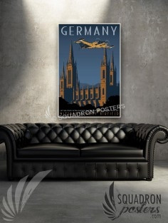 Germany RC-12 1st MIB 20x30 SP00513-vintage-military-aviation-canvas-travel-print-gift