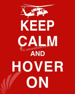 HH-60 Keep-Calm-Fly-On-Red