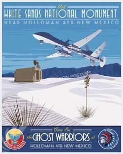 Holloman 29ATKS MQ-9 SP00617-vintage-military-aviation-travel-poster-art-print-gift