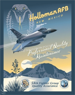 Holloman_F-16_54th_Fighter_Group_SP00852-featured-aircraft-lithograph-vintage-airplane-poster-art