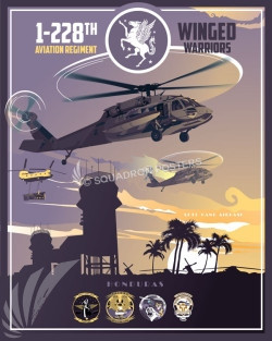 Honduras 1-228 UH-60A/L, the HH-60L and the Ch-47F SP00643 feature-vintage-print