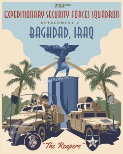 Iraq Convoy 732d 16x20 SP00500-vintage-military-aviation-travel-poster-art-print-gift