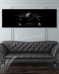 KC-10 2 ARS Jet Black Super Wide Canvas Print JB_McGuire-Dix_2D_ARS_KC-10_SP01306-military-air-force-aviation-artwork-poster-jet-black-litho