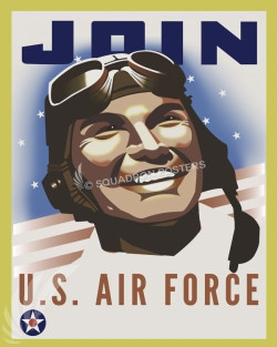 JOIN USAF SP00716 feature-vintage-style-print