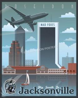 NAS Jacksonville VP-5 P-8 Poseidon Jacksonville_P-8_VP-5_SP01296-featured-aircraft-lithograph-vintage-airplane-poster-art