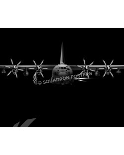 Jet Black AC-130J SP01093-FEAT-jet-black-aircraft-lithograph