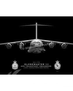 CC-177, 429 Jet Black C-17 CFB Trenton CC-177 429 TS 20x16_R2 SP01402-FEAT-jet-black-aircraft-lithograph