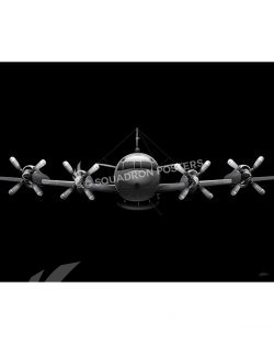 EP-3 Aries II Jet Black Lithograph Jet Black EP-3 Aries II SP01427-FEAT-jet-black-aircraft-lithograph-art