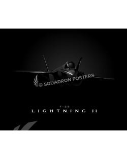 Jet Black F35 SP00787-FEAT-jet-black-aircraft-lithograph