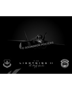 Jet Black F35 58th FS SP00786-FEAT-jet-black-aircraft-lithograph