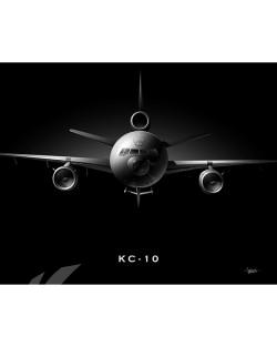 kc-10 black poster