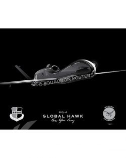 RQ-4 12th RS Jet Black Lithograph Jet Black RQ-4 SP01300-FEAT-jet-black-aircraft-lithograph-art