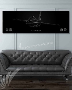 Jet_Black_F-16_Viper_100th_Fighter_SQ_60x20_Name_SP01258-military-air-force-aviation-artwork-poster-jet-black-litho-art
