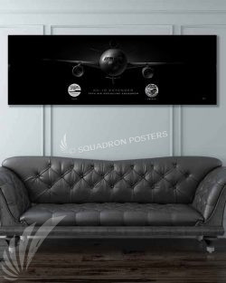 KC-10 79 ARS Jet Black Super Wide Canvas Print Jet_Black_Travis_KC-10_AFB_79_ARS_60x20_SP01318-military-air-force-aviation-artwork-poster-jet-black-litho-art
