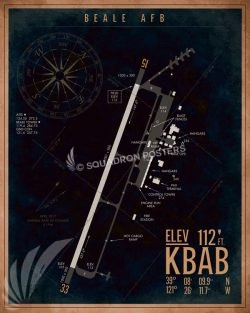 KBAB_Beale_AFB_Airfield_Art_SP01494-featured-aircraft-lithograph-vintage-airplane-poster-art