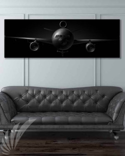 KC-10 jet black featured-image-military-canvas-print
