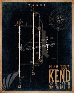 KEND_vance_afb_airfield_map_SP00890-featured-aircraft-lithograph-vintage-airplane-poster-art