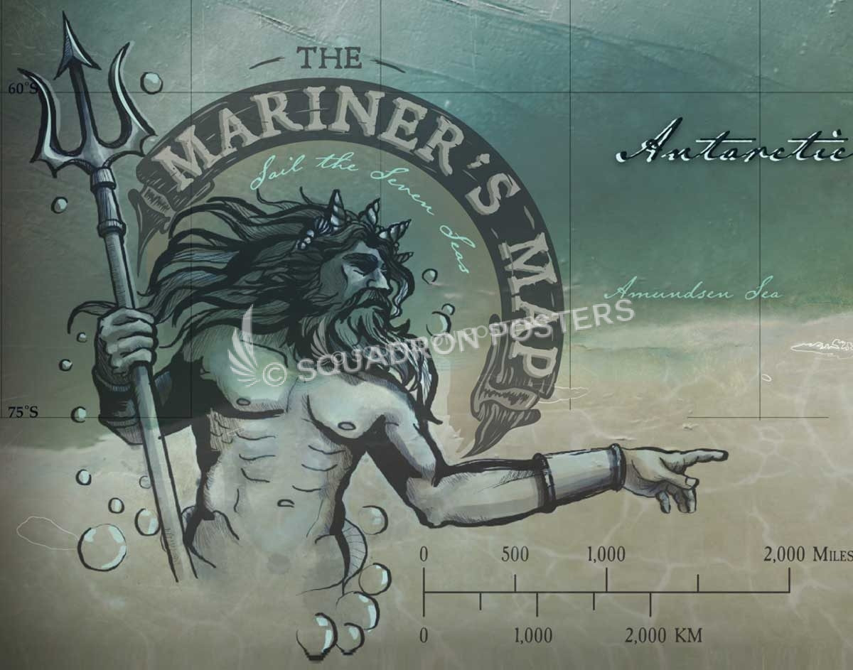 The Mariner S Map Framed Push Pin Travel Map Squadron