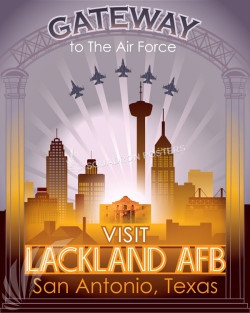 Gateway to the Air Force poster