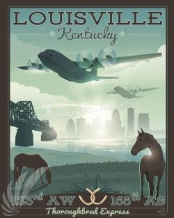 Kentucky ANG 165th Airlift Squadron C-130H louisville_kentucky_c-130h_165_as_sp01228-featured-aircraft-lithograph-vintage-airplane-poster-art